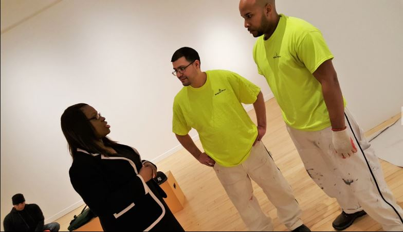 Grupo De Pintores Contruyeron Con Su Trabajo a las Mejoras del Museo de Arte de El Bronx