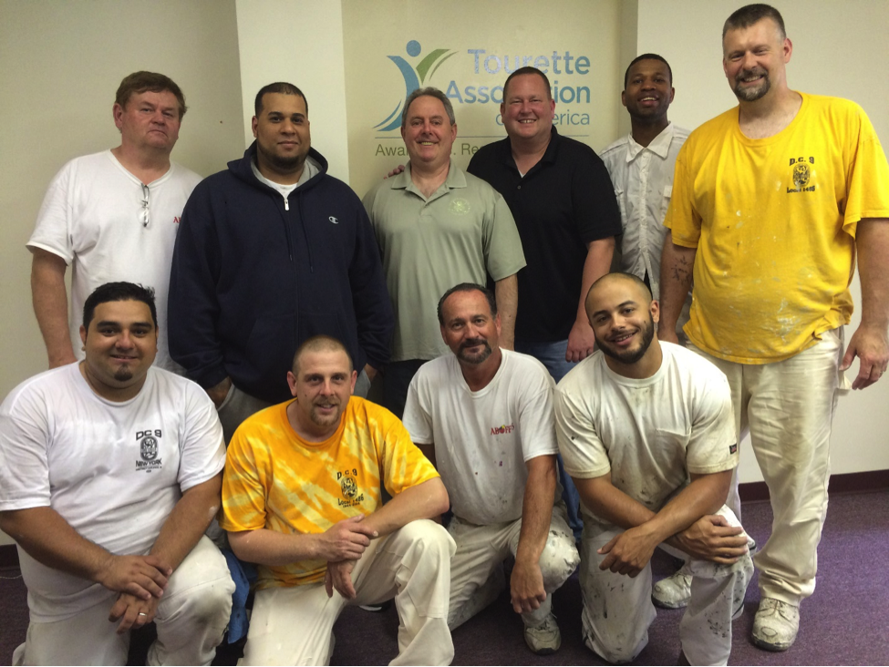District Council 9 Local 1486 Painters Union Gives Back to National Nonprofit